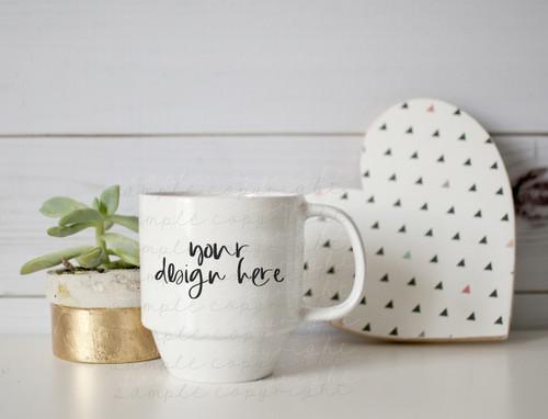 Plain White Mug Mock-Up #2