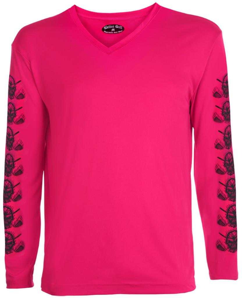 Ladies Golf Under Shirt Pink