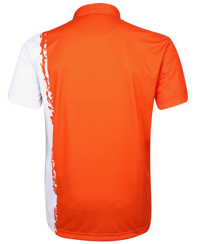 Player ProCool Men's Golf Shirt (Orange)