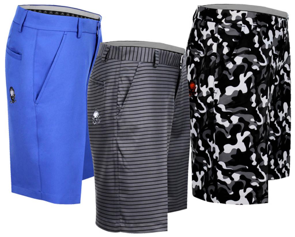 New Shorts - Stripes, Camo, Electir Blue - Ships FREE