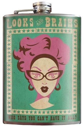 Looks & Brains Flask