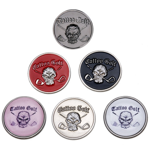 Ball Markers w/ Skull design