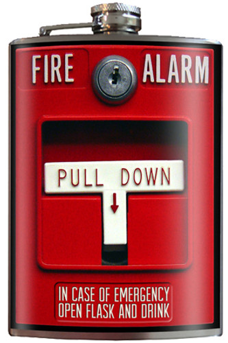 Fire Alarm Flask