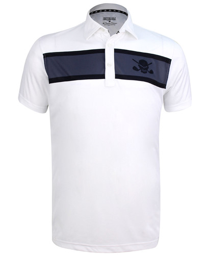 Clubhouse ProCool Men's Golf Shirt (White)