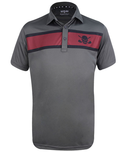 Clubhouse ProCool Men's Golf Shirt (Charcoal)