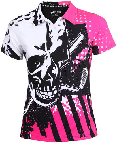 Blade Ladies Golf Shirt (Pink)