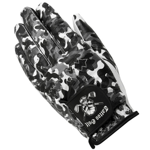 Fine Cabretta leather camo golf glove offers a superior and consistent fit.