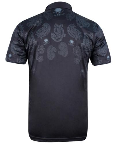 Hustler ProCool Men's Golf Shirt (Black)