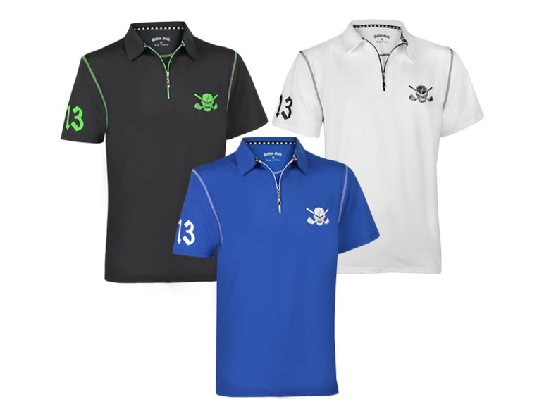 New Lucky 13/Red-Line Hybrid Golf Shirts