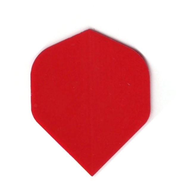 """RED"" Standard Poly Dart Flights PR507"