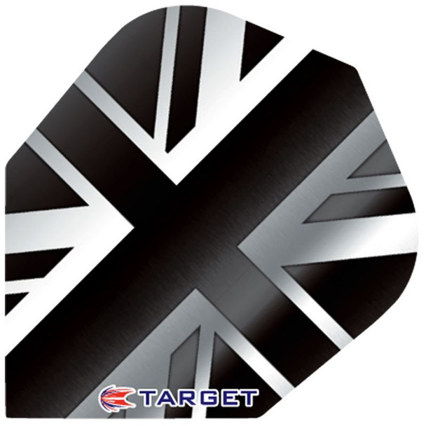 Target Pro 100 Std Flights - British Flag