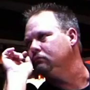Pro Darter Bryan Stamey, Dart Brokers sponsoree