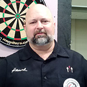 Daniel Hawkins, Pro Darter and Dart Brokers Sponsored Player