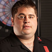 Pro Darter Gordon Dixon, Dart Brokers Sponsored Player