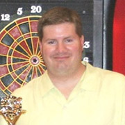 Pro Darter Jason Naert, Dart Brokers sponsoree
