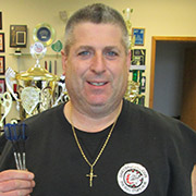 Jeff Morris, Pro Darter and Dart Brokers Sponsored Player