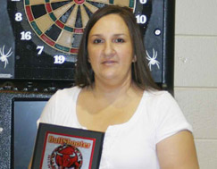Dart Brokers Pro Player Tricia Pluff