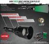 Wicked Lights A48iC GREEN Scan Plus Night Hunting Light Kit for coyotes, hogs, and predators