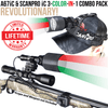 WICKED LIGHTS A67IC & SCANPRO IC 3-COLOR-IN-1 NIGHT HUNTING LIGHT AND HEADLAMP COMBO KIT