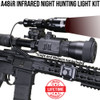 WICKED LIGHTS A48IR 850NM INFRARED NIGHT HUNTING LIGHT KIT FOR NIGHT VISION
