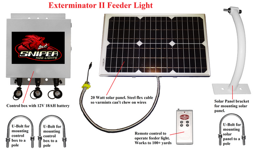 Exterminator II Feeder Light