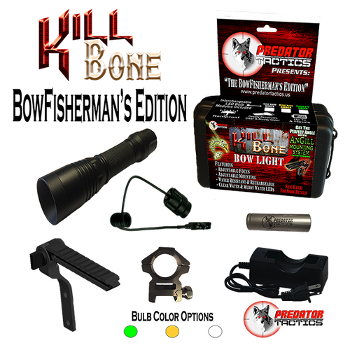 Predator Tactics: KillBone BowFisherman's Edition (Triple LED Kit)