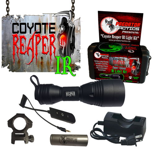 Predator Tactics: Coyote Reaper IR Light Kit w/ Intensity Control