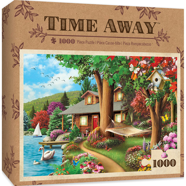 Time Away Around The Lake 1000 Piece Jigsaw Puzzle