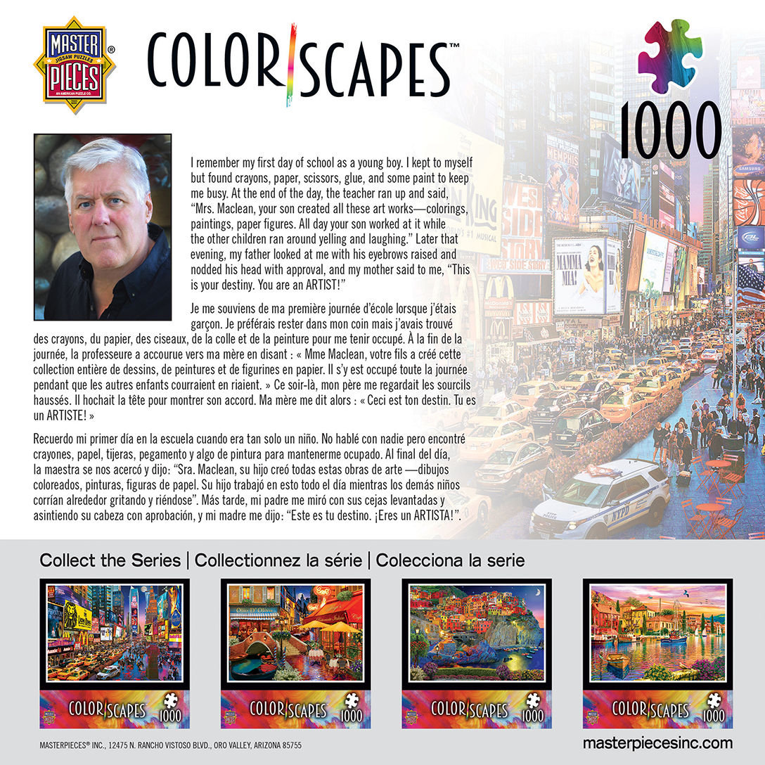 Colorscapes Show Time 1000 Piece Jigsaw Puzzle