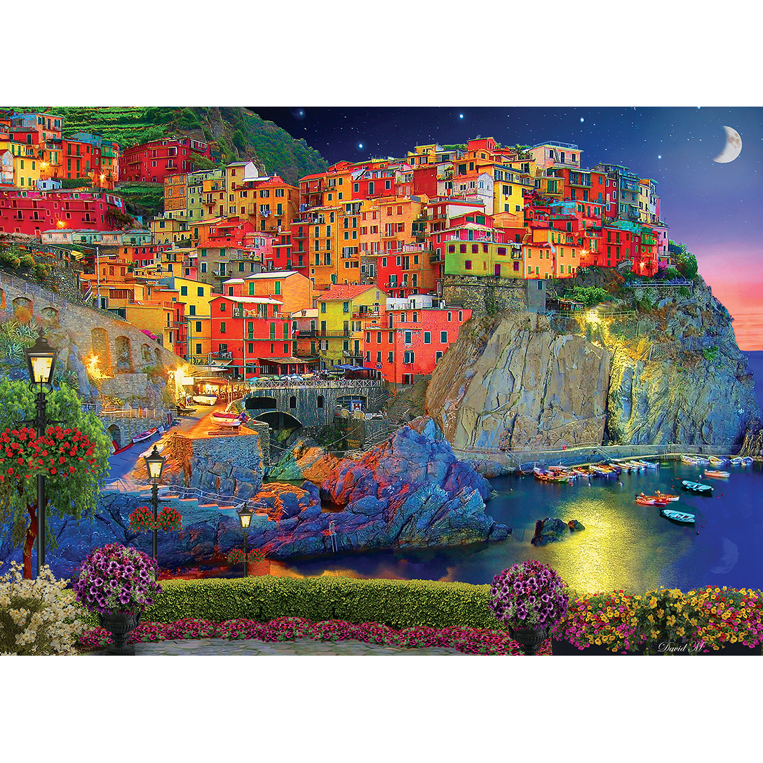 Colorscapes Evening Glow 1000 Piece Jigsaw Puzzle