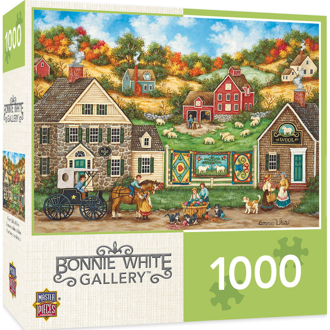 Hometown Gallery Great Balls Of Yarn 1000 Piece Jigsaw Puzzle