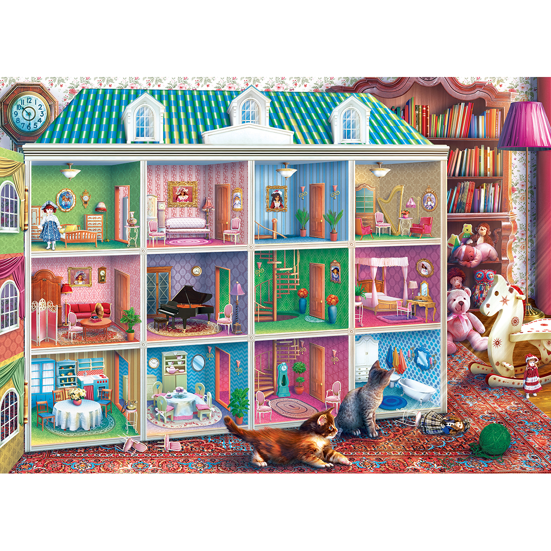 Inside Out Sophia S Dollhouse 1000 Piece Jigsaw Puzzle
