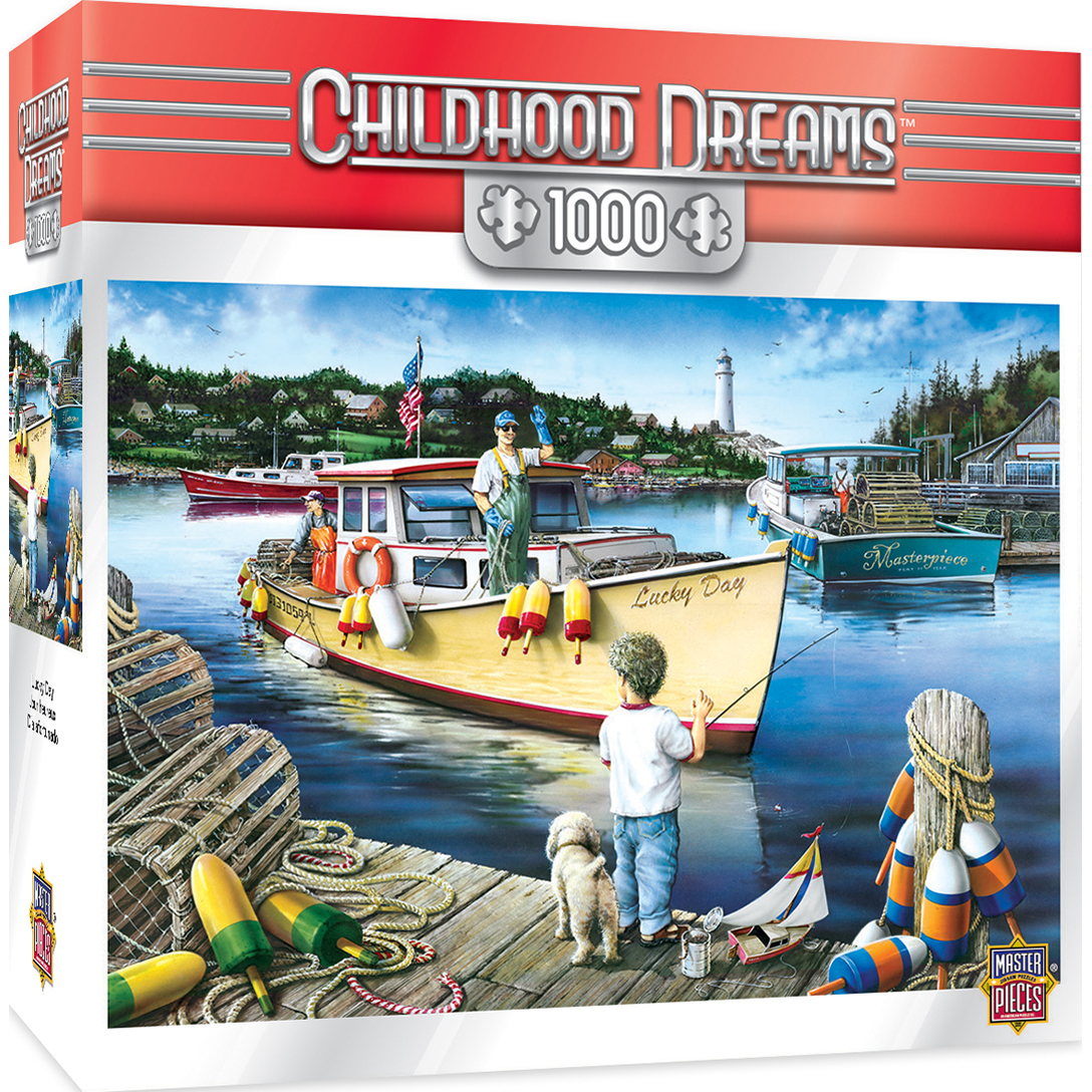 Childhood Dreams Lucky Days 1000 Piece Jigsaw Puzzle