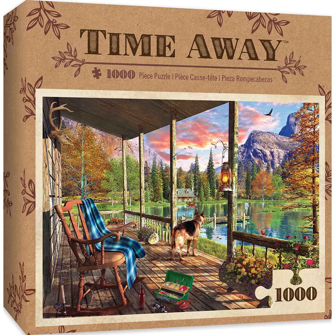 Time Away Sunset Ritual Lake Amp Mountains 1000 Piece