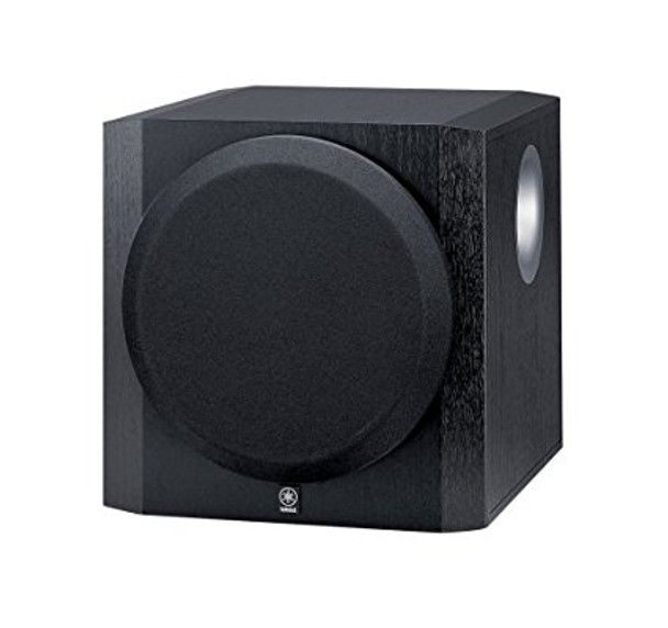 "10"" 100 Watt Powered Subwoofer Black"