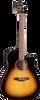 Seagull S6 CW Spruce Sunburst GT QIT Acoustic/Electric