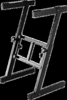 On Stage KS7350 Pro Heavy-Duty Folding-Z Keyboard Stand