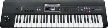 Korg Krome 61 Key Workstation with Free Korg Gig Bag