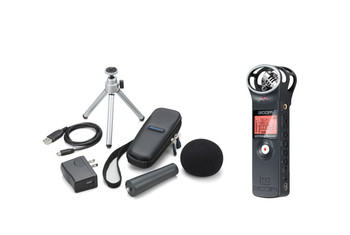 Zoom H1 Handy Recorder and APH-1 Accessory Pack