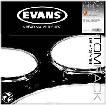 Evans G2 Clear Standard Pack
