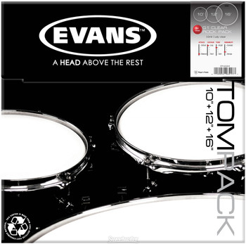 Evans G1 Clear Rock Pack