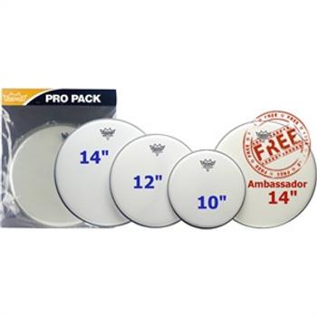 Remo Emporer Coated Pro Pack