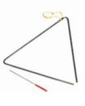 Power Beat 10 Inch Triangle with beater and holder