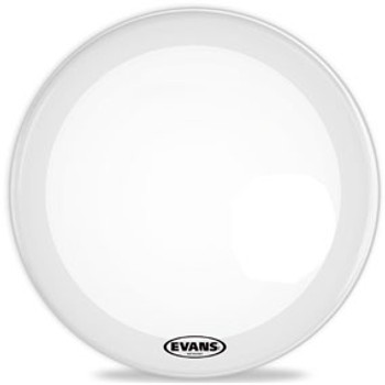 Evans EQ3 Smooth White Resonant Bass Drum Head
