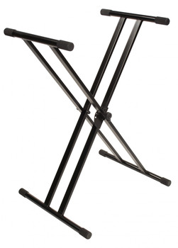 Ultimate Support JamStands JS-502D Double Brace X-Style Keyboard Stand
