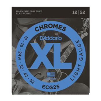 D'Addario Electric Strings Chromes ECG25
