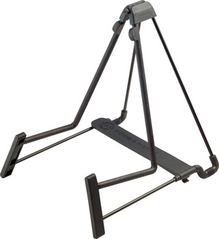 K&M Heli 2 Acoustic Guitar Stand Black