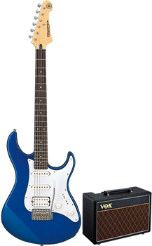 Yamaha Gigmaker10 Electric Guitar Pack Blue