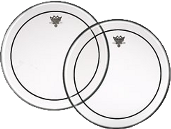 Remo Pinstripe Clear Batter Drum Head 10""