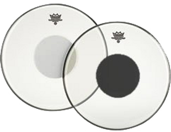 Remo Controlled Sound Clear Black Dot Batter Drum Head 10""